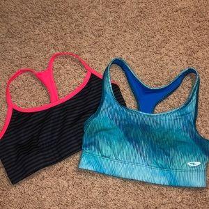 REVERSIBLE Reebok sports bra bundle